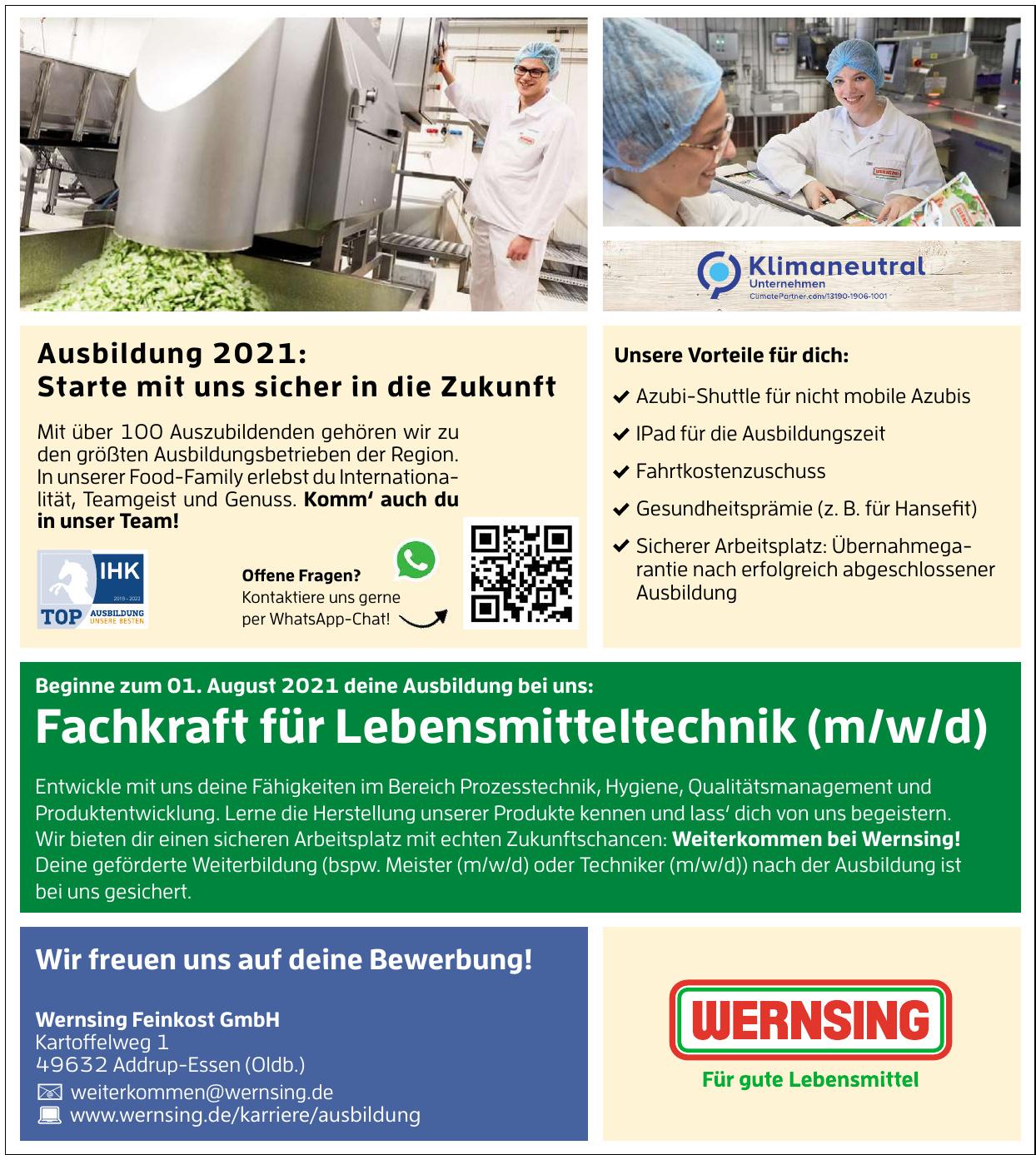 Wernsing Feinkost GmbH
