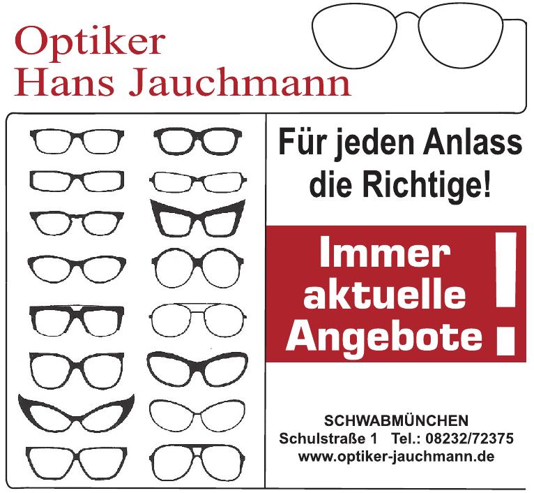 Optiker Hans Jauchmann