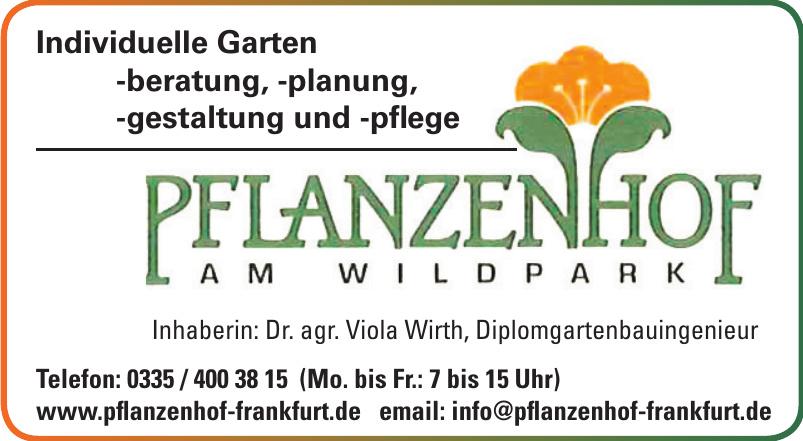 Pflanzenhof am Wildpark