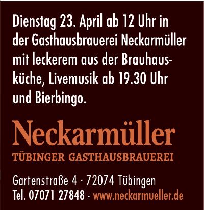 Neckarmüller Tübinger Gasthausbrauerei