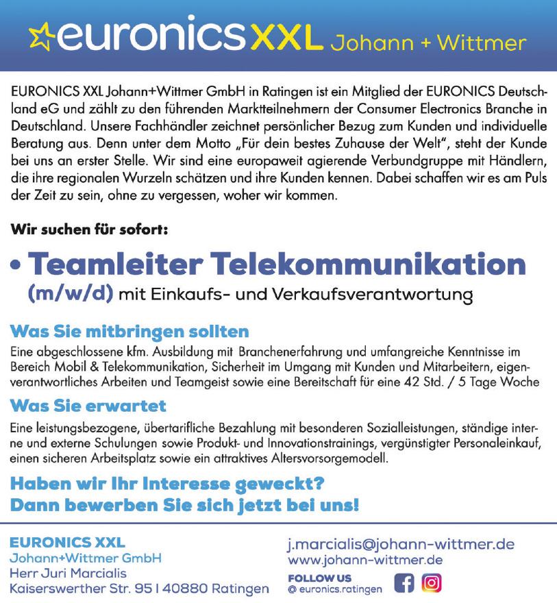 Euronics XXL Johann+Wittmer GmbH