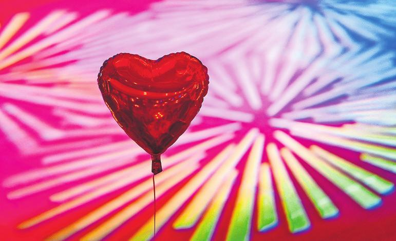 14. Februar – ein Tag für Verliebte. Foto: dpa/Jens Kalaene
