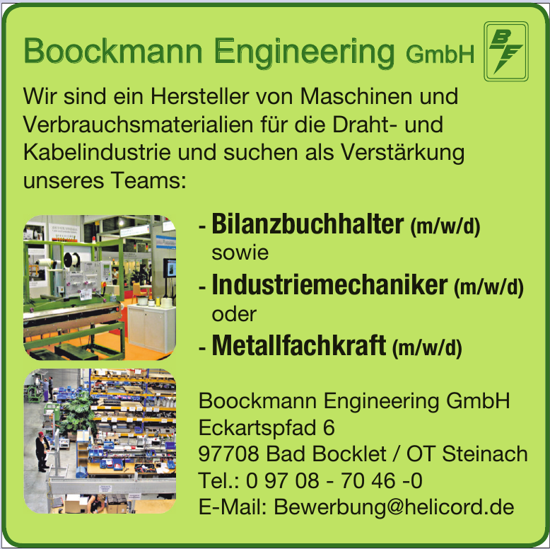 Boockmann Engineering GmbH
