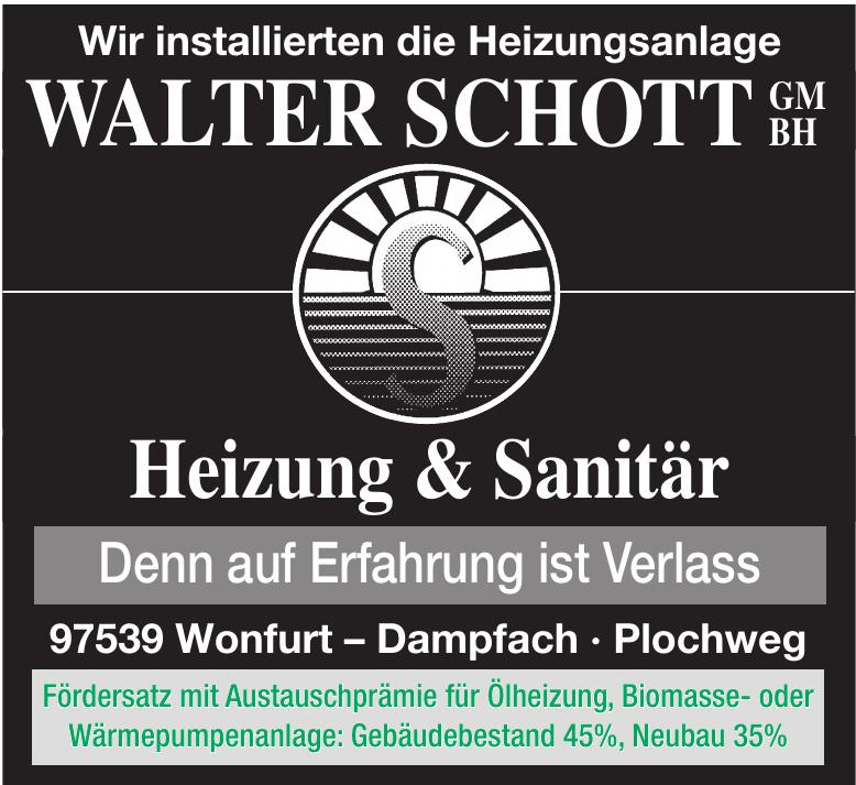 Walter Schott GmbH Heizungsbau und Sanitär