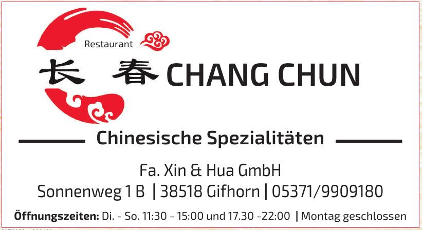 Chang Chun Chinesische Spezilitäten