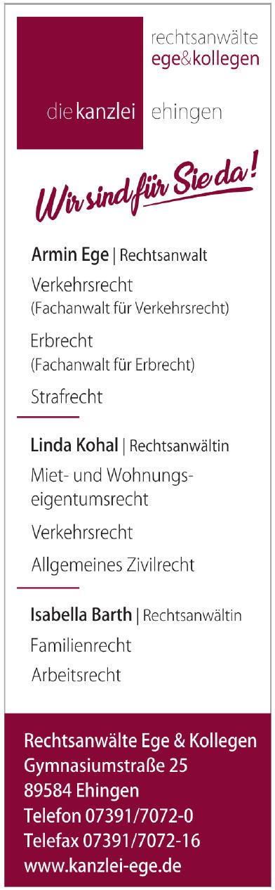 Rechtsanwälte Ege & Kollegen