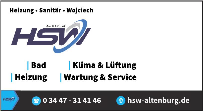 HSW Heizung-Sanitär-Wojciech GmbH & Co. KG