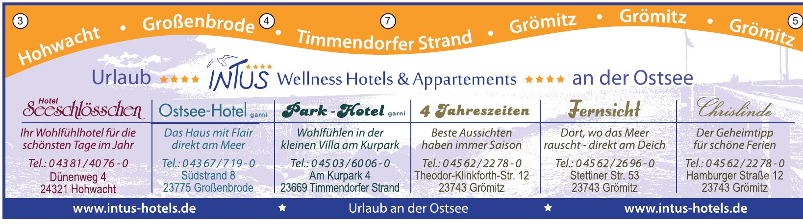 Intus Hotels und Appartements