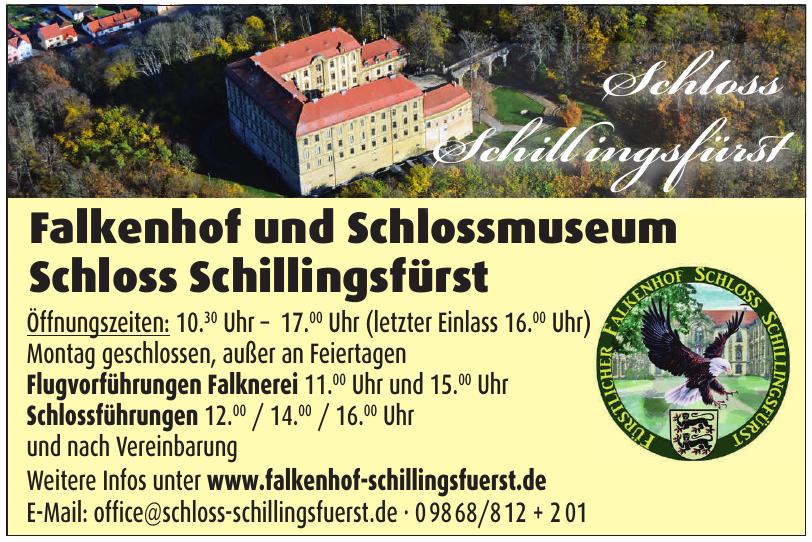 Falkenhof und Schlossmuseum Schloss Schillingsfürst