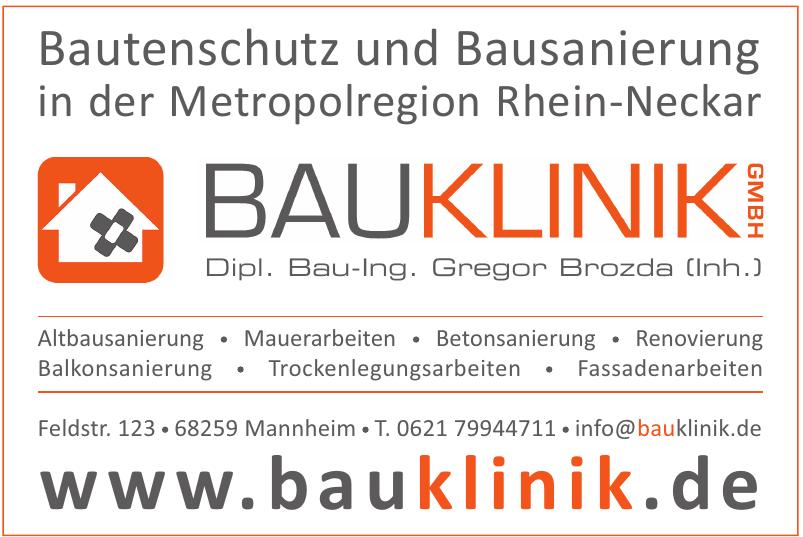 Bauklinik GmbH
