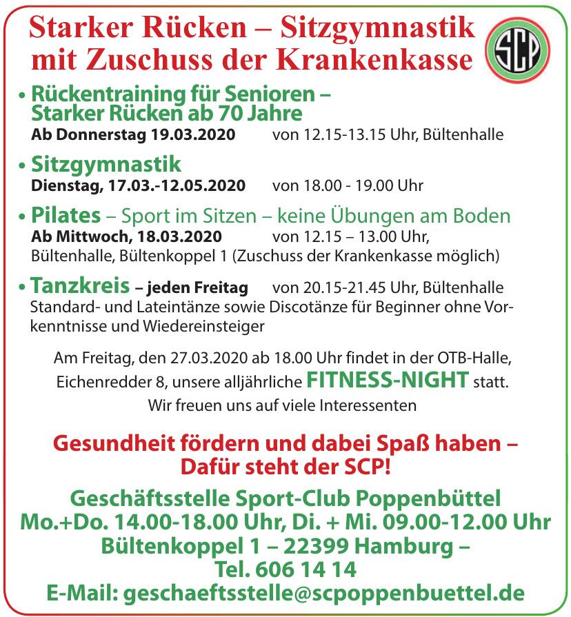 Geschäftsstelle Sport-Club Poppenbüttel