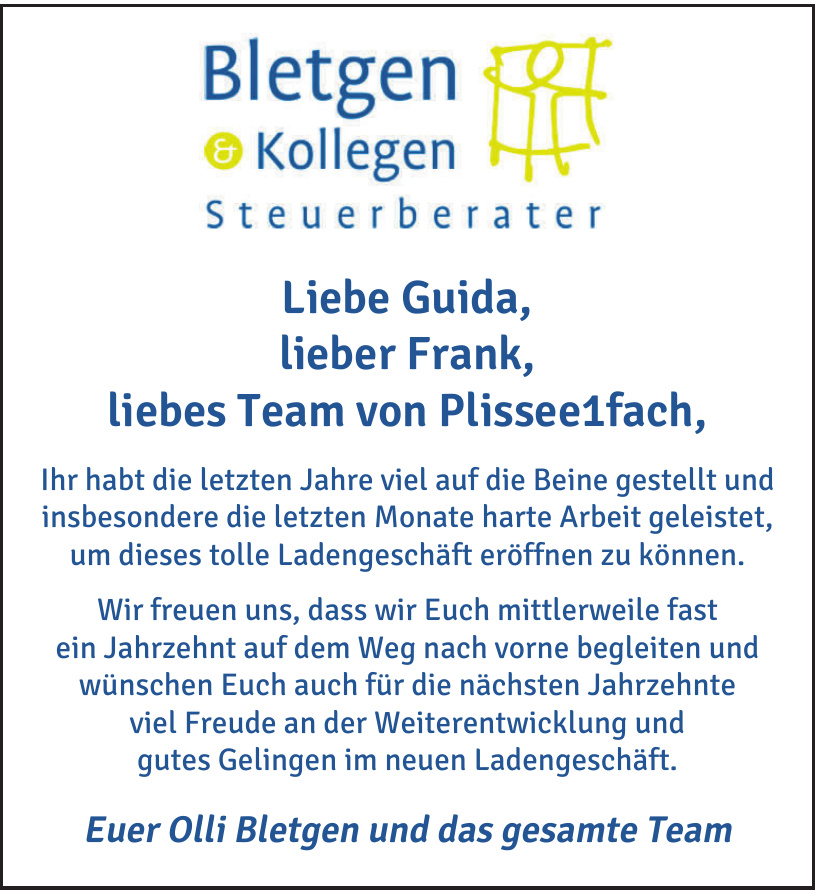 Bletgen & Kollegen