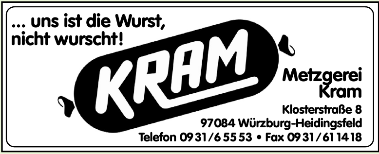 Metzgerei Kram