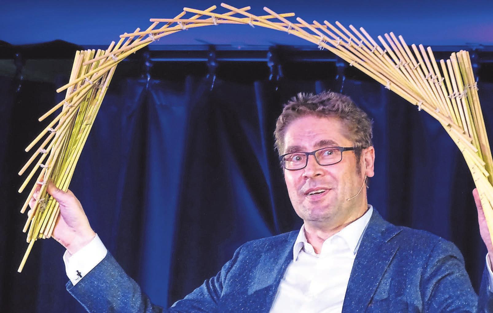 Zum aktuellen Programm im Landgasthaus Meyer gehört auch der Auftritt des gefragten Künstlers DESiMO.