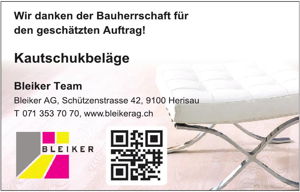 Bleiker AG