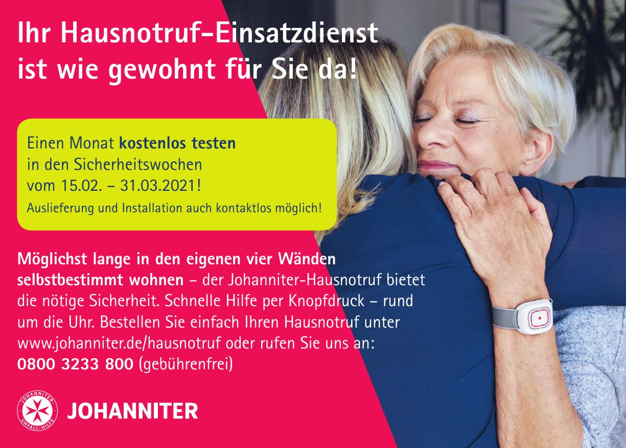 Der Johanniter-Hausnotruf