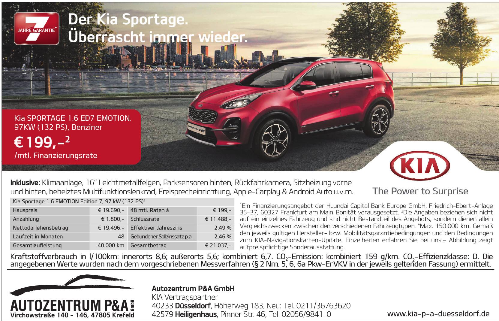 Autozentrum P&A GmbH - KIA Vertragspartner