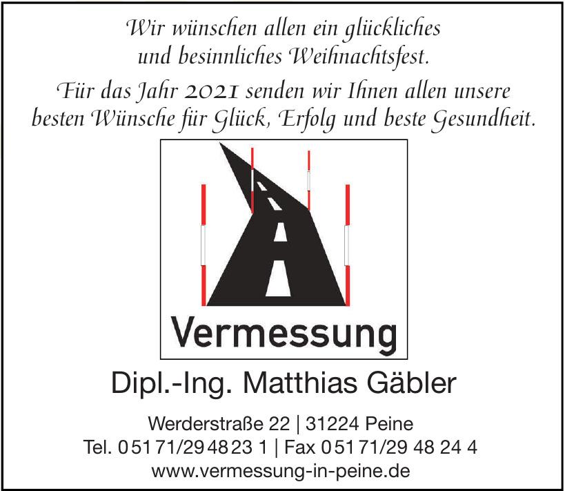 Vermessung Dipl.-Ing. Matthias Gäbler