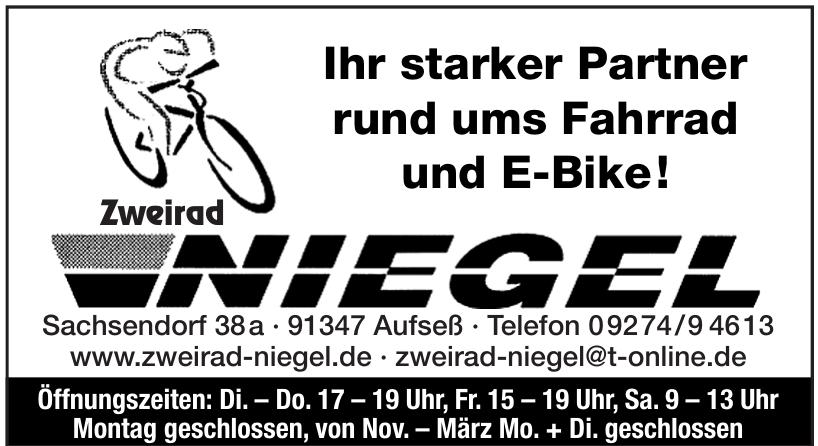 Zweirad Niegel