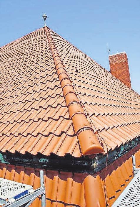 Jedes Dach der Firma Strauch ist ein kleines Kunstwerk.