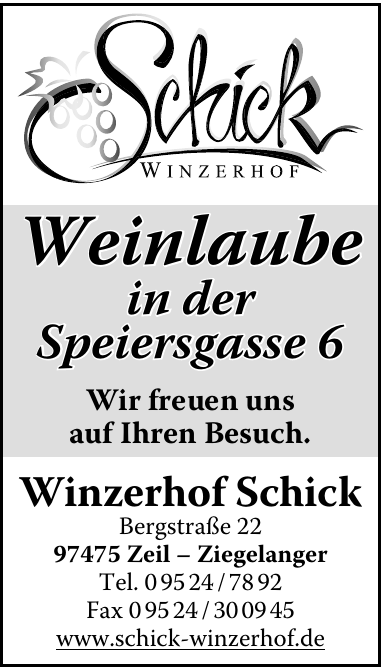 Winzerhof Schick