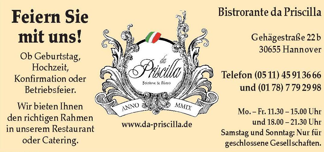 Bistrorante da Priscilla