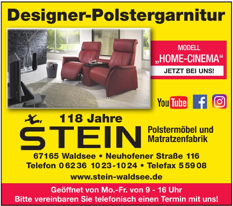 Polstermöbel und Matratzenfabrik Stein