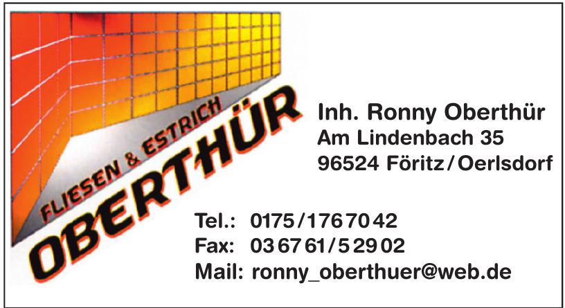 Fliesen & Estrich Oberthür