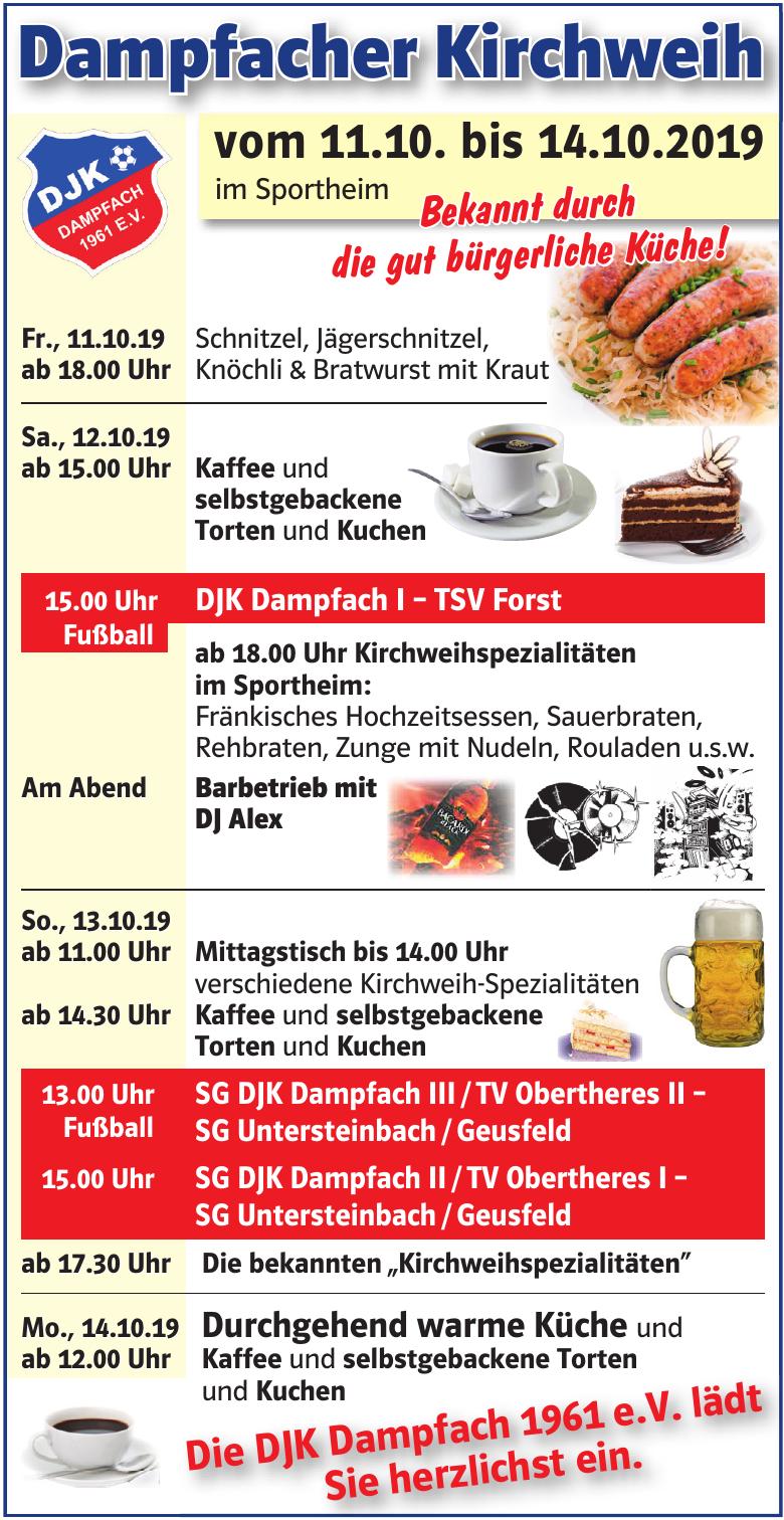 Dampfacher Kirchweih