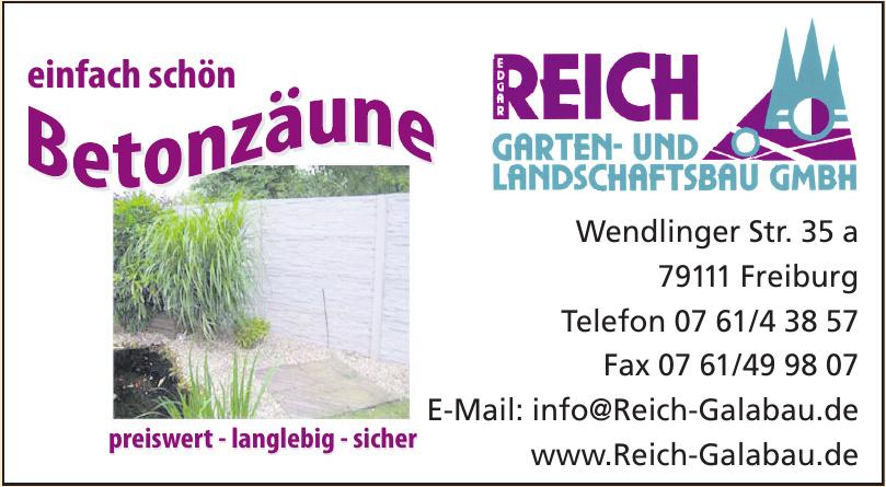 Edgar Reich Garten- und Landschaftsbau GmbH