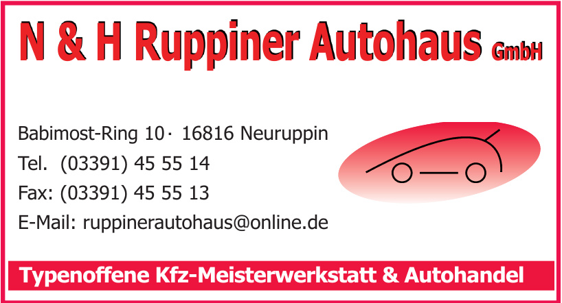 N & H Ruppiner Autohaus GmbH