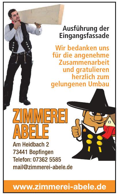 Zimmereu Abele