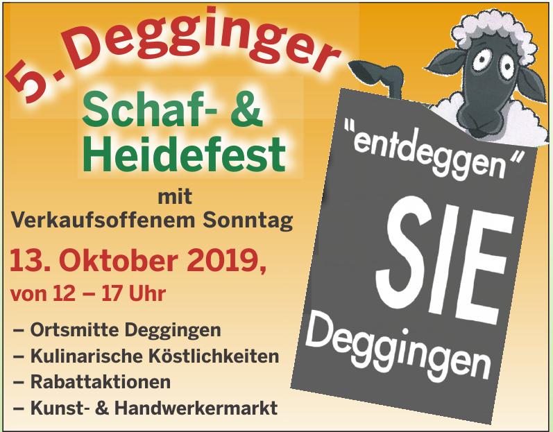 5. Degginger Schaf- & Heidefest