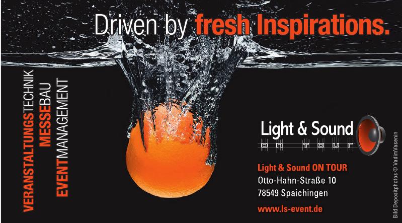 Light & Sound ON TOUR