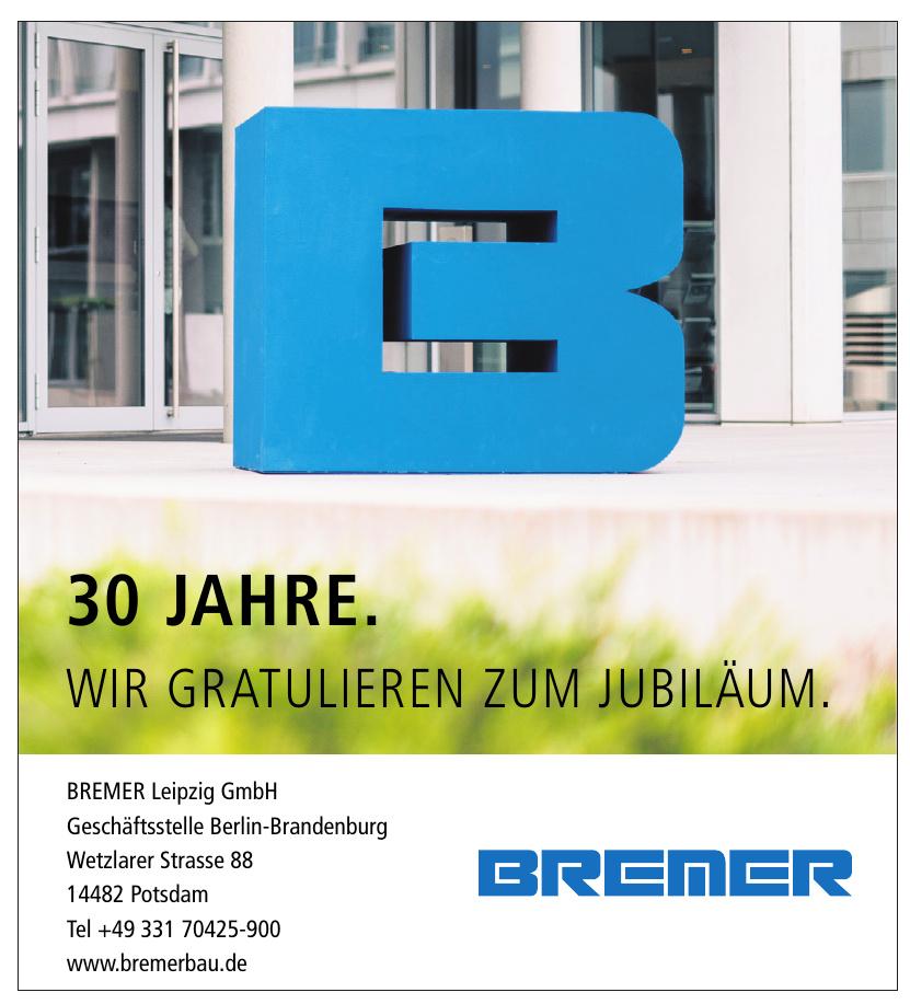 BREMER Leipzig GmbH