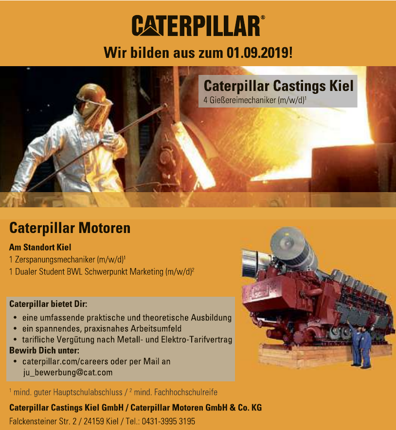 Caterpillar Castings Kiel GmbH / Caterpillar Motoren GmbH & Co. KG
