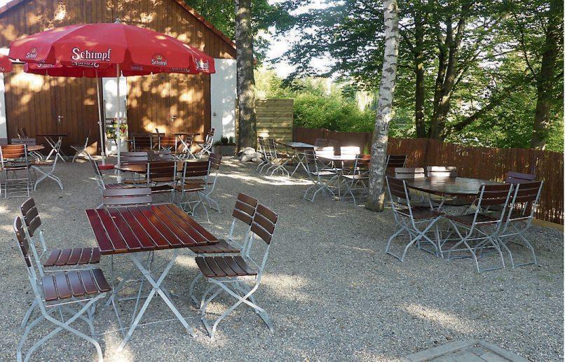 Den Rottenburger Sommer im Biergarten genießen: seit heute beim Haus der Bürgerwache.