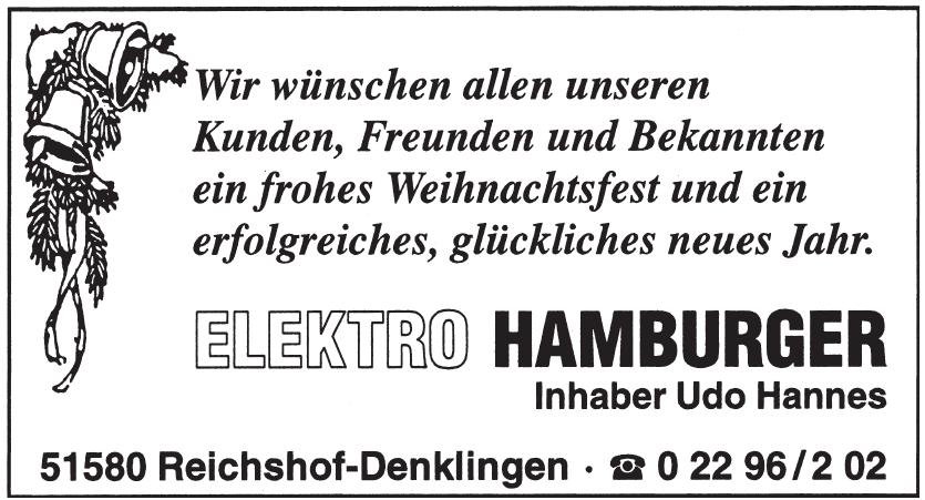 Elektro Hamburger