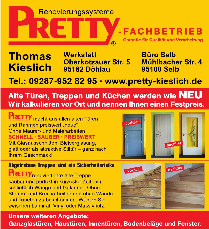 Pretty Fachbetrieb Thomas Kieslich