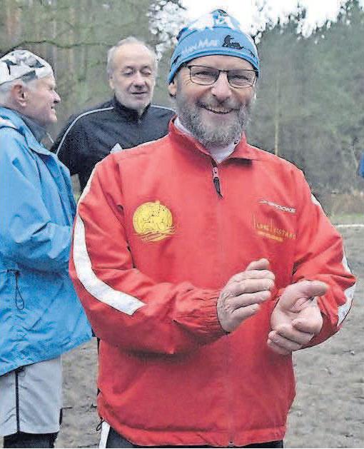 Raimund Kupka vor zwei Wochen beim EMB-Cup in Hennigsdorf.