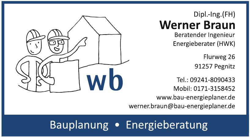Dipl.-Ing. (FH) Werner Braun