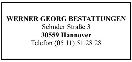 Werner Georg Bestattungen