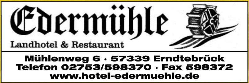 Hotel Edermühle