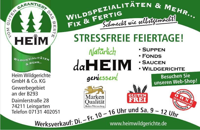 Heim Wildgerichte GmbH & Co. KG