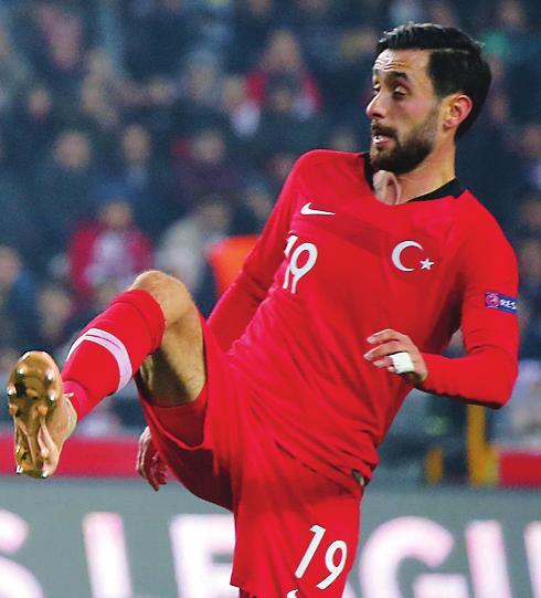 Im Kader der Türkei: Yunus Malli.