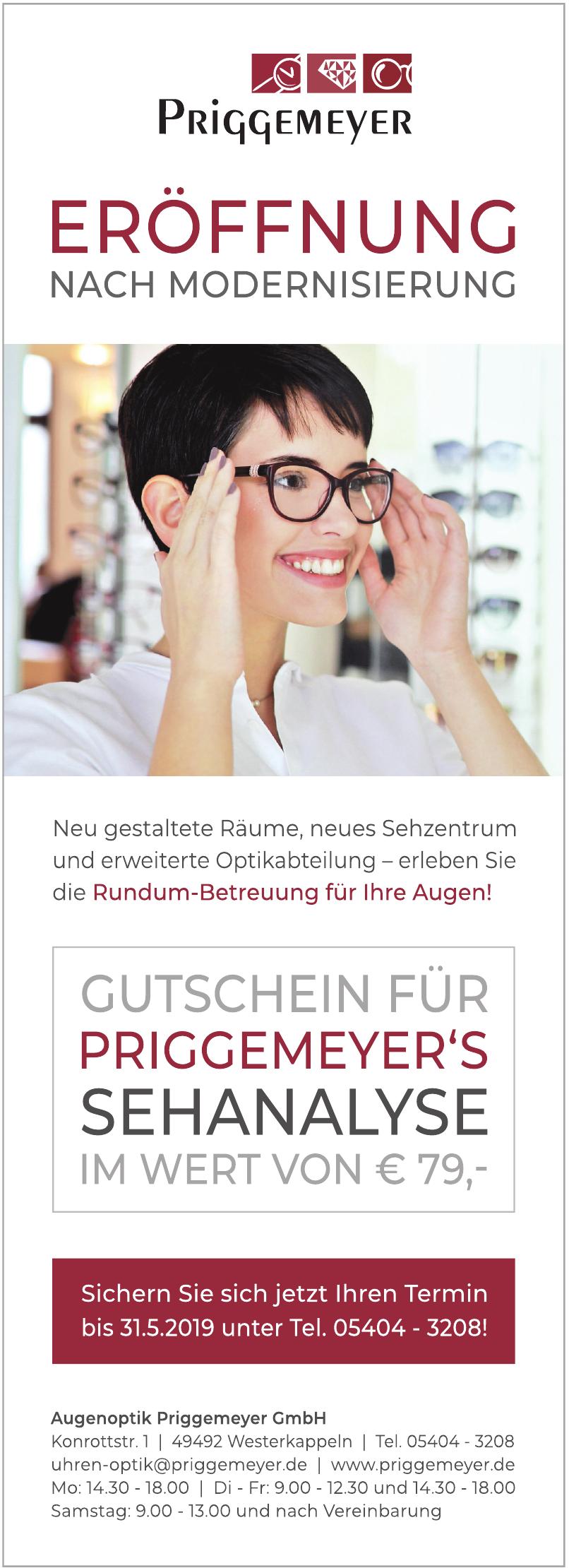 Augenoptik Priggemeyer GmbH