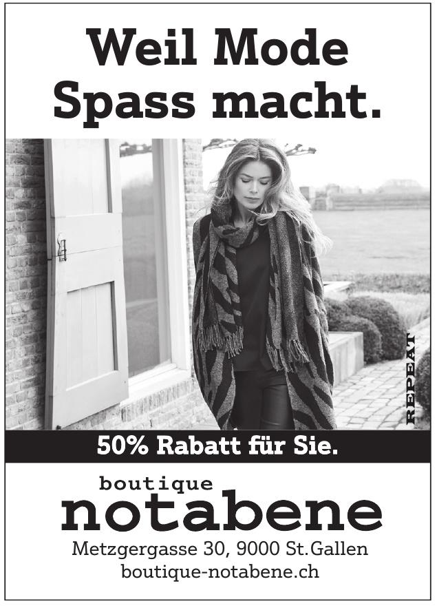 boutique notabene