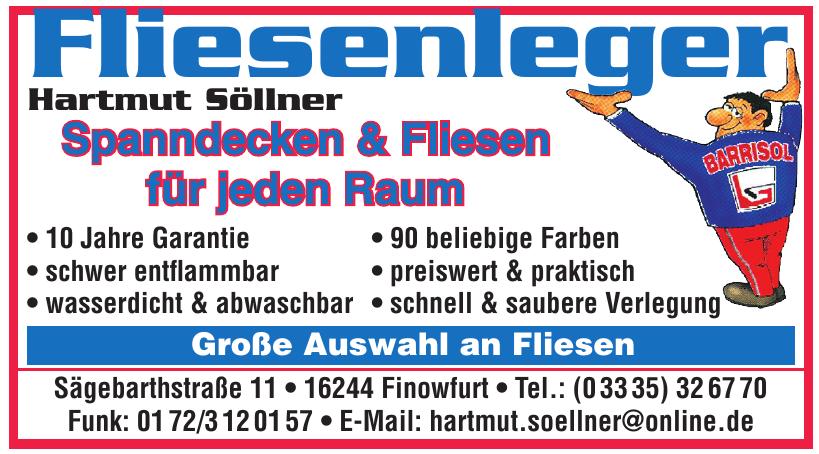 Fliesenleger Hartmut Söllner