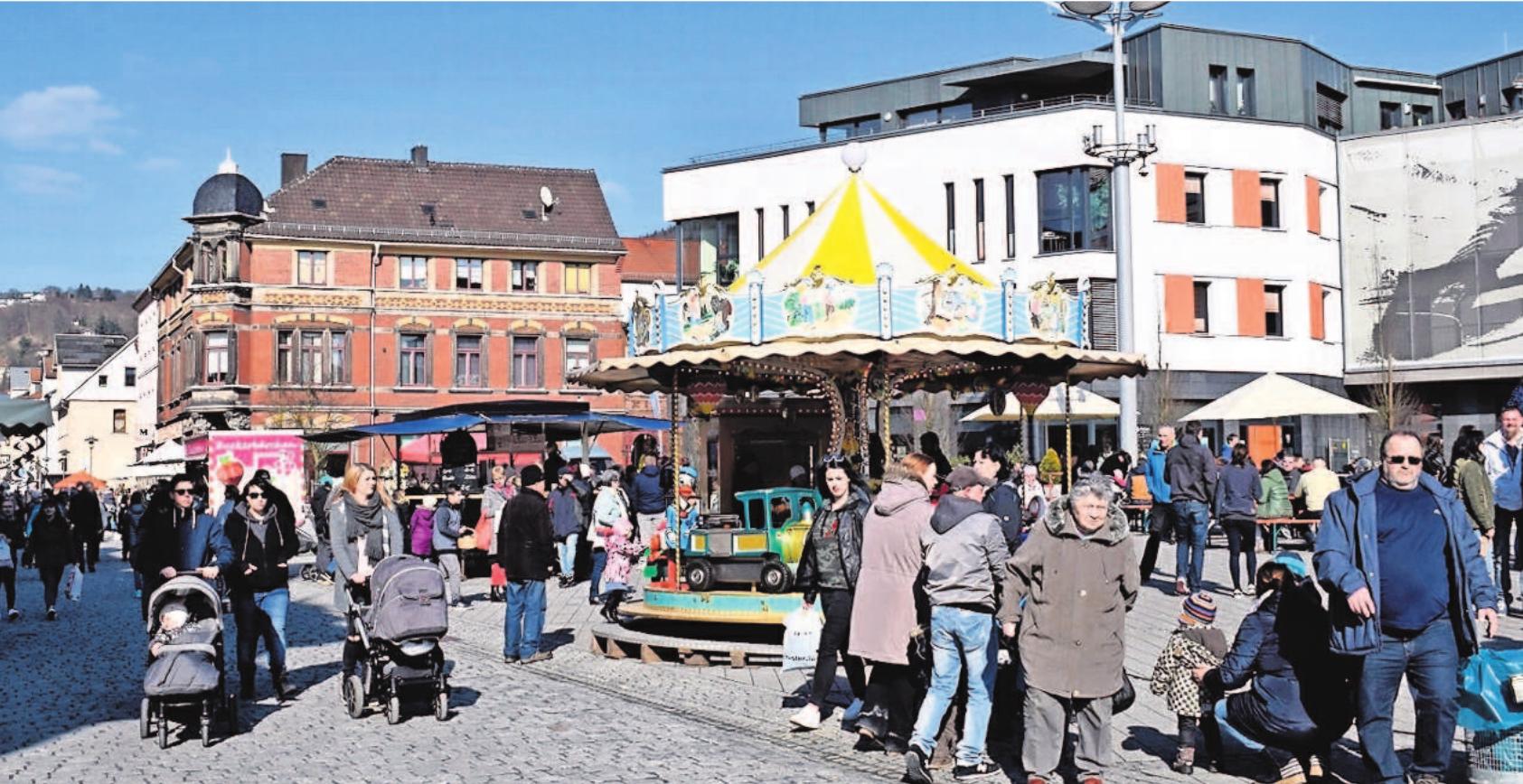 Herzlich willkommen zum Ostermarkt in Sonneberg. Foto: Stadtverwaltung
