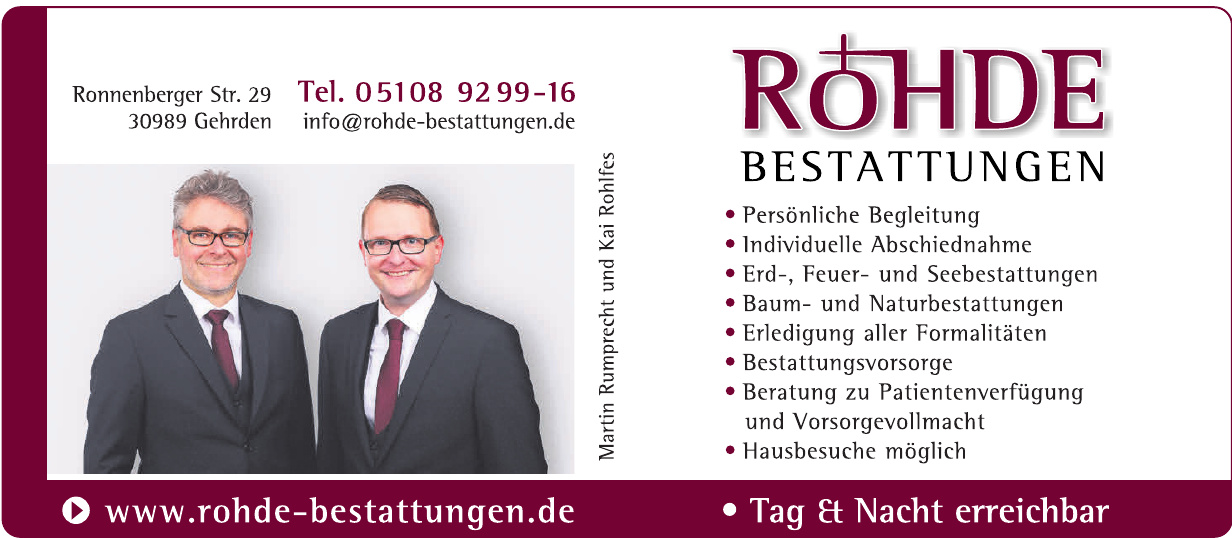 Bestattungen Rohde